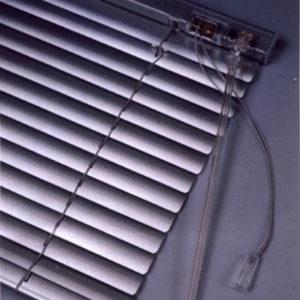 Алюминиевые горизонтальные жалюзи (Перламутр) с лентой 25 мм