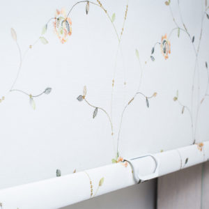 Рулонные тканевые шторы MINI - Прованс белый